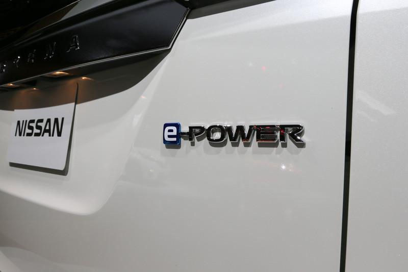 セレナ e-POWERのエクステリア。今回のショーでは内装の撮影は不可とのこと
