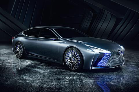 【東京モーターショー2017】レクサス、自動運転の実用化を見据えたコンセプトカー「LS+ Concept」 LS+ Concept