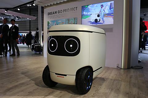 【東京モーターショー2017】動画で見る世界初公開のコミュニケーションサービスロボット「Honda ロボキャス Concept」 東京モーターショー2017でワールドプレミアされた「Honda ロボキャス Concept」