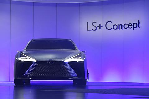 【東京モーターショー2017】レクサス、自動運転レベル4に向けた新コンセプトカー「LS+ Concept」披露 レクサスのコンセプトカー「LS+ Concept」がアンベール