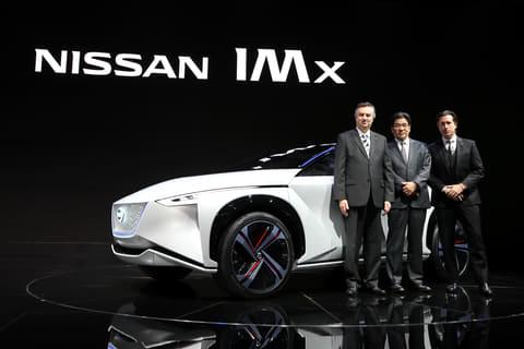 【東京モーターショー2017】日産、完全自動運転技術&航続距離600km以上のEVコンセプト「ニッサン IMx」世界初公開 EV(電気自動車)のクロスオーバーコンセプト「ニッサン IMx」を世界初公開