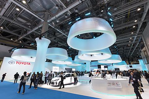 【東京モーターショー2017】未来のコンセプトカーからレーシングカーまで展示するトヨタブース トヨタ自動車ブースは多くのメーカーがブースを構える東展示棟ではなく西展示棟にある