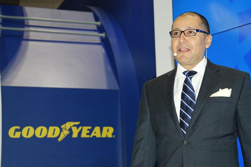 グッドイヤー アジアパシフィック 消費財タイヤ部門 副社長 ライオネル・ラミレス氏