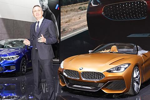 【東京モーターショー2017】BMW、アジア・プレミアの「コンセプト Z4」「コンセプト 8シリーズ」を展示 第45回東京モーターショー2017においてビー・エム・ダブリューはプレスカンファレンスを行なった