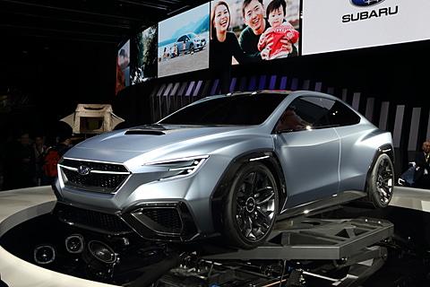 【東京モーターショー2017】限定450台の「S208」、抽選販売の「BRZ STI Sport」などスバルブースの展示車両イッキ見せ SUBARU VIZIV PERFORMANCE CONCEPT