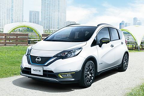 日産、スタイリングガードや専用ホイールでアクティブ感を強調した「ノート」特別仕様車「C-Gear(シーギア)」 特別仕様車「ノート e-POWER X シーギア ツーリングパッケージ」