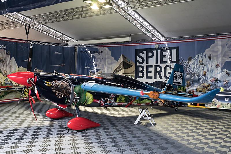 ペトル・コプシュタイン選手(No.18 チーム シュピールベルグ、チェコ)の機体「EDGE 540 V3」