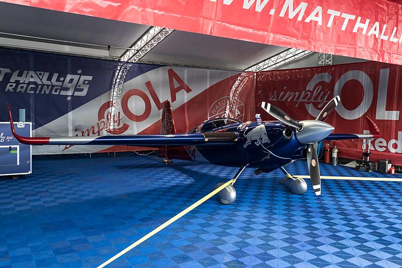 マット・ホール選手(No.95 マット ホールレーシング、オーストラリア)の機体「EDGE 540 V3」