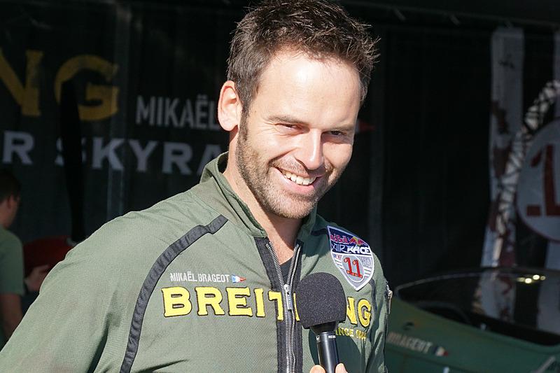 ミカエル・ブラジョー選手(No.11 ブライトリング レーシング チーム、フランス)