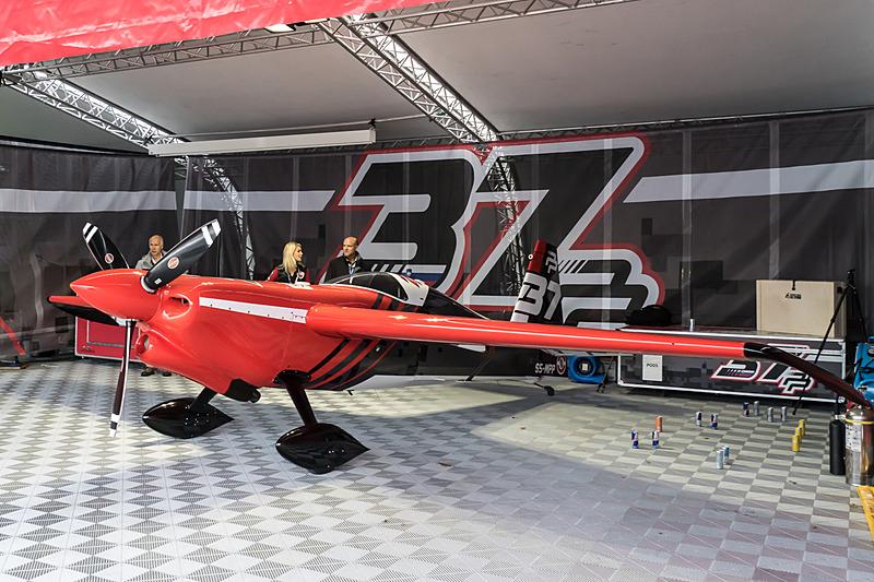 ピーター・ポドランセック選手(No.37 ピーターポドランセック レーシング、スロベニア)の機体「EDGE 540 V2」