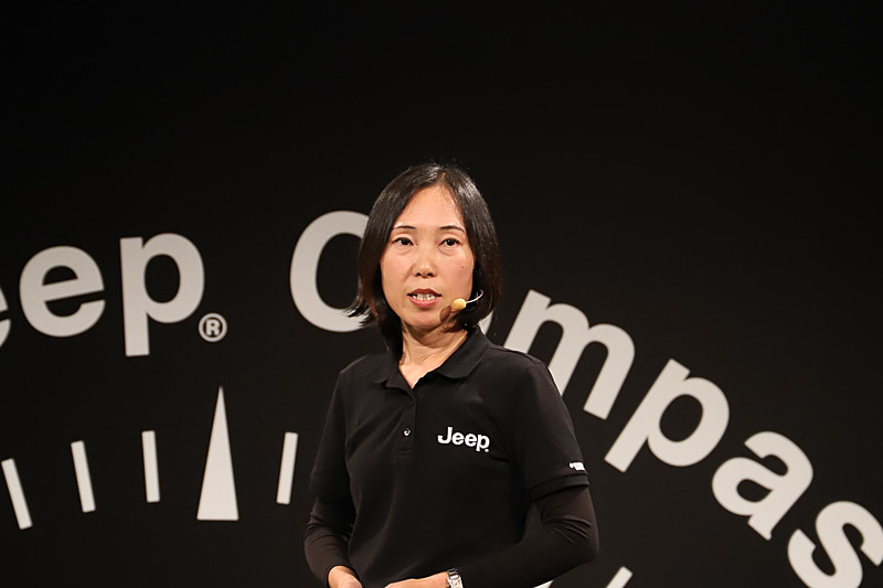 FCA ジャパン株式会社 マーケティング本部 プロダクトマネージャー 渡邊由紀氏