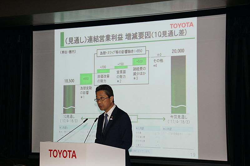 トヨタ自動車株式会社 取締役副社長の永田理氏