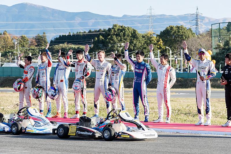 2回目のレースでは佐藤琢磨選手がポールポジションから優勝