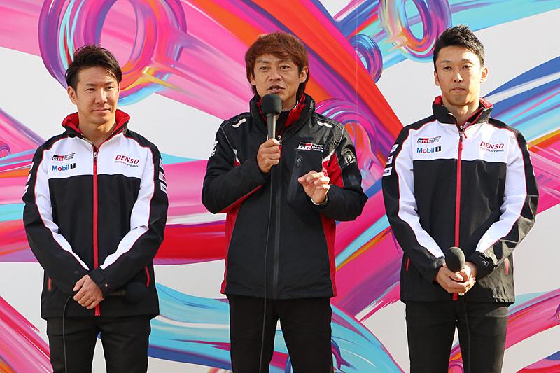 小林選手、中嶋選手、脇阪氏によるトークセッションも行なわれ、スポーツカーに対するそれぞれの思いやスポーツカーカルチャーを広めていくために必要なことなどが語られた