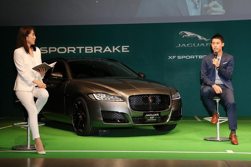 車両解説後には錦織選手によるトークセッションの時間も設けられた