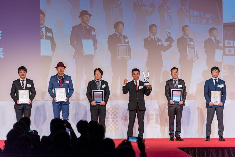 全日本ラリー選手権 クラス6 ドライバー チャンピオン:勝田範彦選手