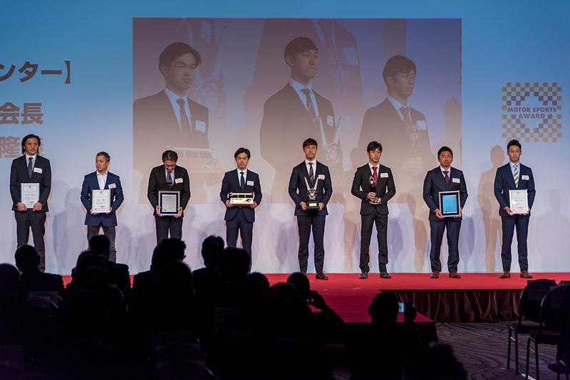 全日本スーパーフォーミュラ選手権 ドライバー チャンピオン:石浦宏明選手、同 チームチャンピオン:INGING MOTORSPORT、同 メカニック賞:INGING MOTORSPORT