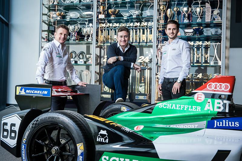 フォーミュラEの2017/2018年シーズンに「Team Audi Sport ABT Schaeffler」がドイツメーカー初のワークスチーム体制で参戦