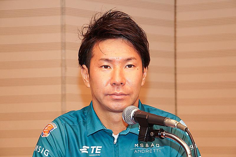 香港ラウンドにスポット参戦する小林可夢偉選手