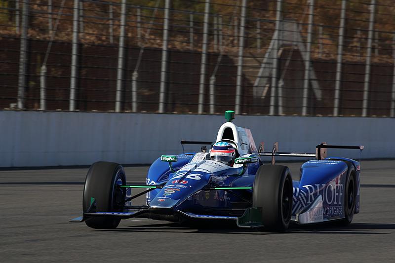 Honda Racing THANKS DAY 2017で凱旋走行を行なった佐藤琢磨選手