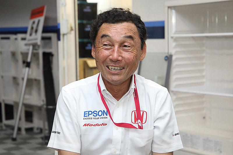 NAKAJIMA RACING 総監督の中嶋悟氏