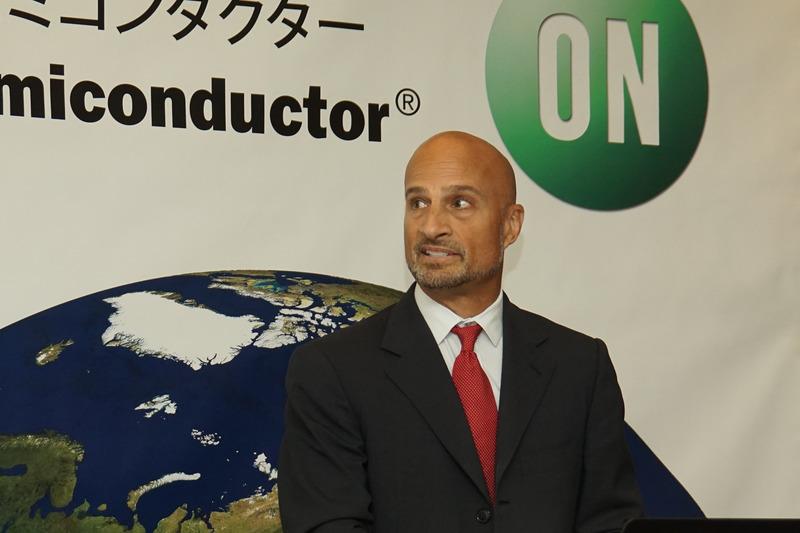 オン・セミコンダクター コーポレートストラテジ、マーケティング&ソリューションエンジニアリング担当上席副社長 ディビット・ソモ氏
