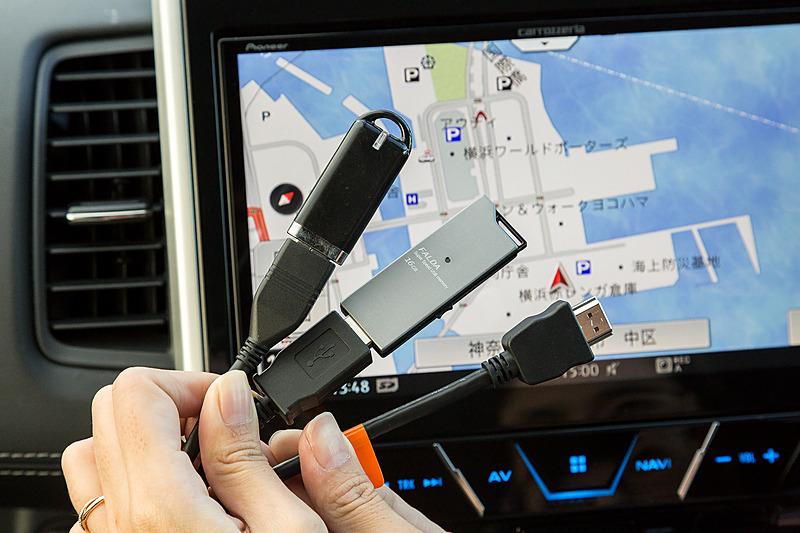 USBの入力端子は2系統。HDMIは入出力ともに1系統ずつ用意される