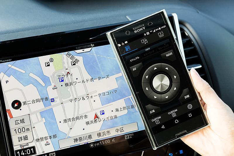 スマートフォンをスマートコマンダーのように使える「リアスマートコマンダー」