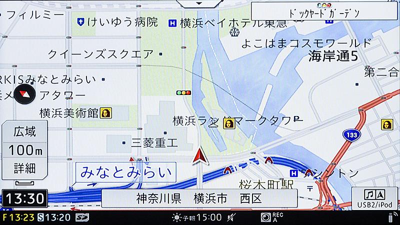 100mスケール(文字拡大)