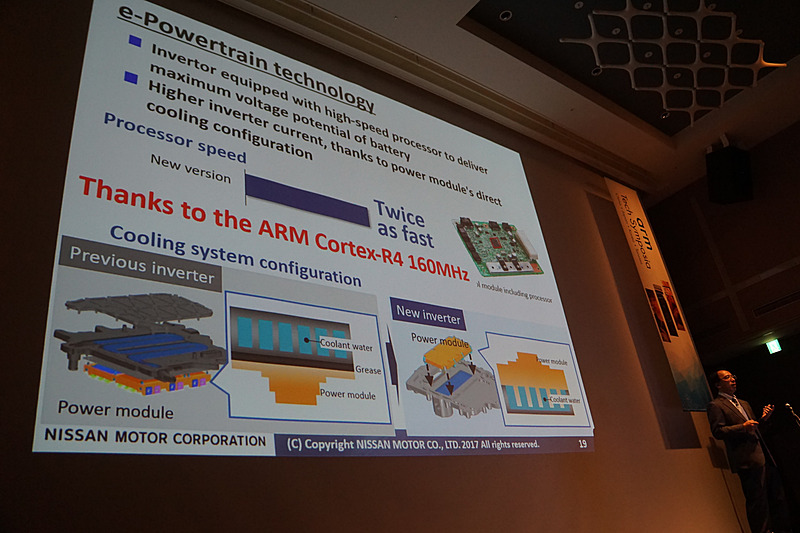 新型リーフの改良への取り組みを示したスライド