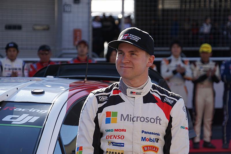 ヤリスWRCをドライブしたエサペッカ・ラッピ選手