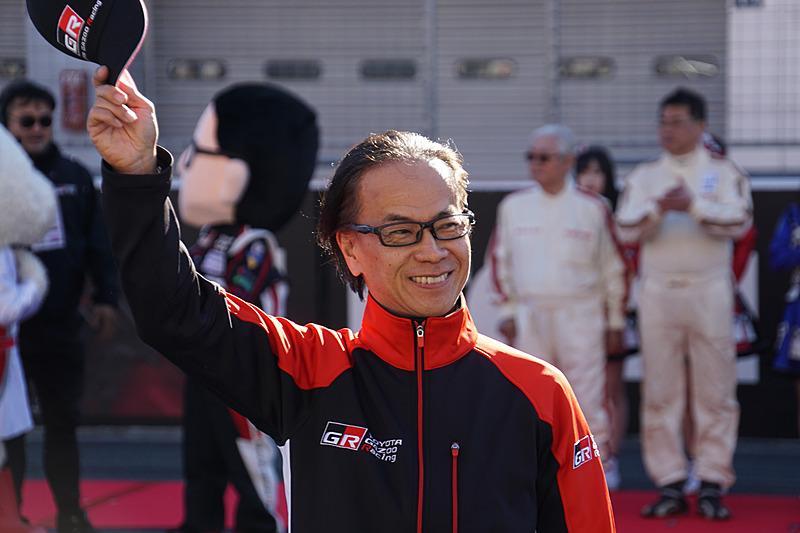 GAZOO Racing Company Presidentの友山茂樹氏