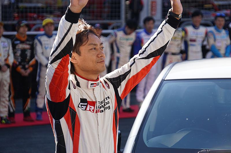 TOYOTA GAZOO Racing アンバサダーの脇坂寿一氏