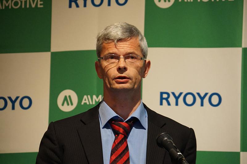 AImotive 日本オフィス 自動車事業責任者 アクセル・ビアルケ氏