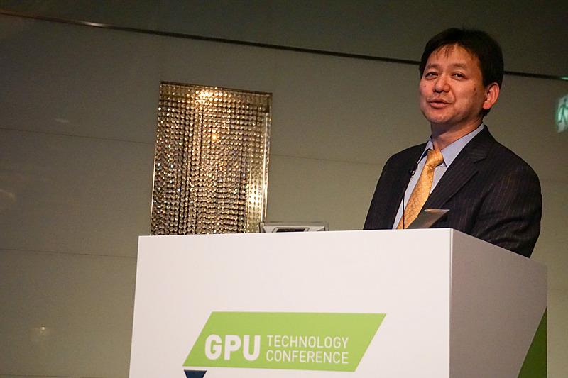 「GTC Japan 2017」のセッションに登壇した株式会社本田技術研究所 四輪R&Dセンター 統合制御開発室ADブロック 主任研究員の安井裕司氏