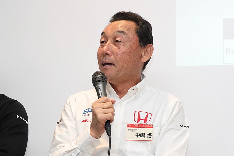 中嶋総監督はふだんあまり多くを語らない方というが、この日は貴重な話をたくさんしゃべっていただいた