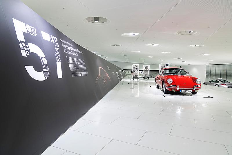 「911(901 No.57)レジェンドのテイクオフ」と題した特別展示が2018年4月8日までの期間実施される