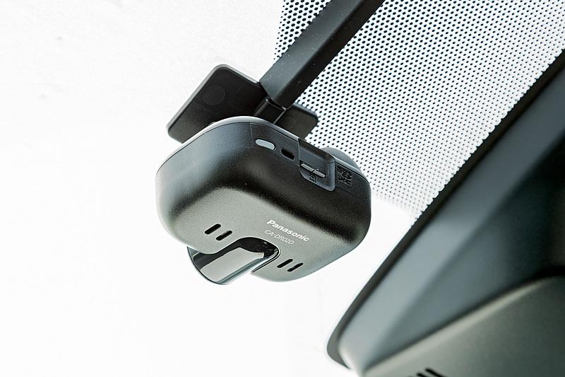 ナビ連動タイプのドライブレコーダー「CA-DR02D」