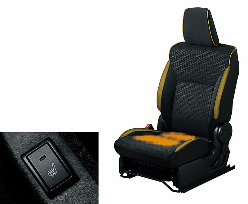 運転席・助手席シートヒーターは全車標準装備となる