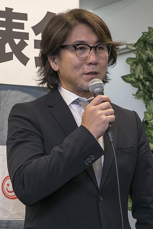 エントラント代表の安藝貴範氏
