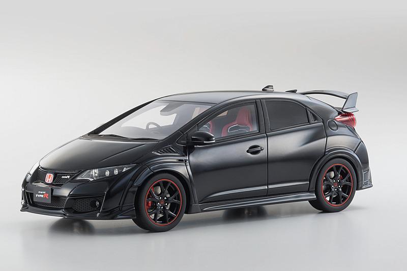 Samurai 1/18スケール Civic Type R「クリスタルブラックパール」300台限定