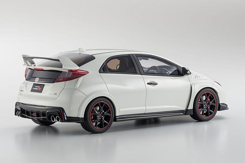 Samurai 1/18スケール Civic Type R「チャンピオンシップホワイト」500台限定