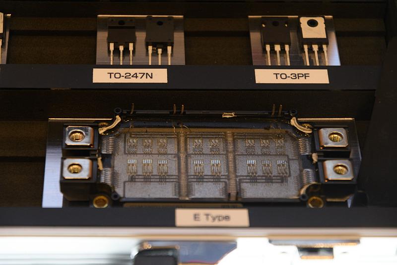 こちらはインバータを構成するパワーデバイス