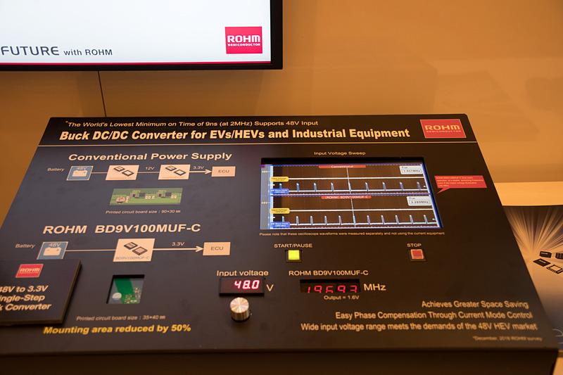 EVやハイブリッド車用のDC/DCコンバータ