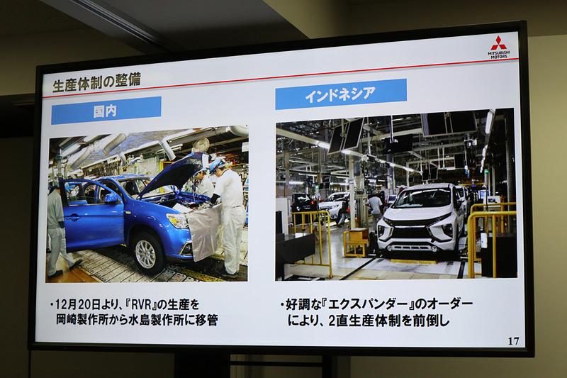 インドネシア工場はエクスパンダーの好調を受け、生産体制の2直化を前倒しで開始した