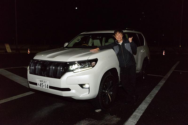 プラドで関越自動車道を北へ向かう。埼玉エリアでは雪などは降っていなかったが