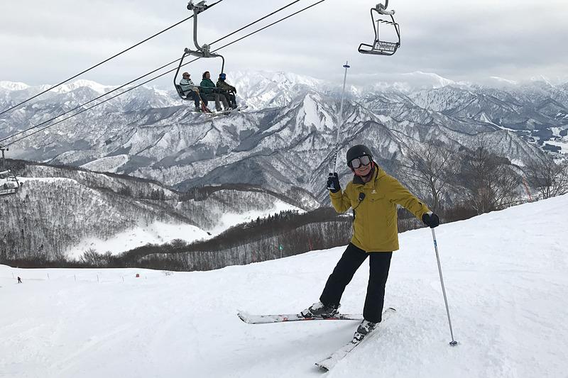 プラドに乗ってガーラ湯沢にスキーに行ってきました