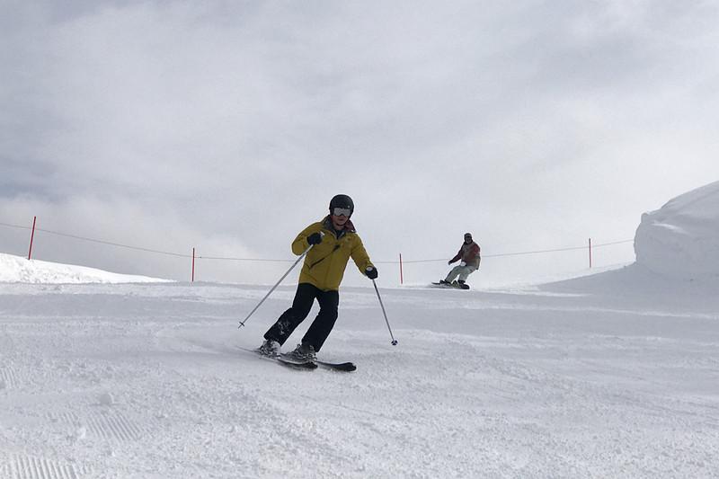 11年振りのスキーはとても楽しかったです