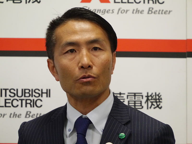 三菱電機株式会社 産業システムデザイン部長 籠橋巧氏