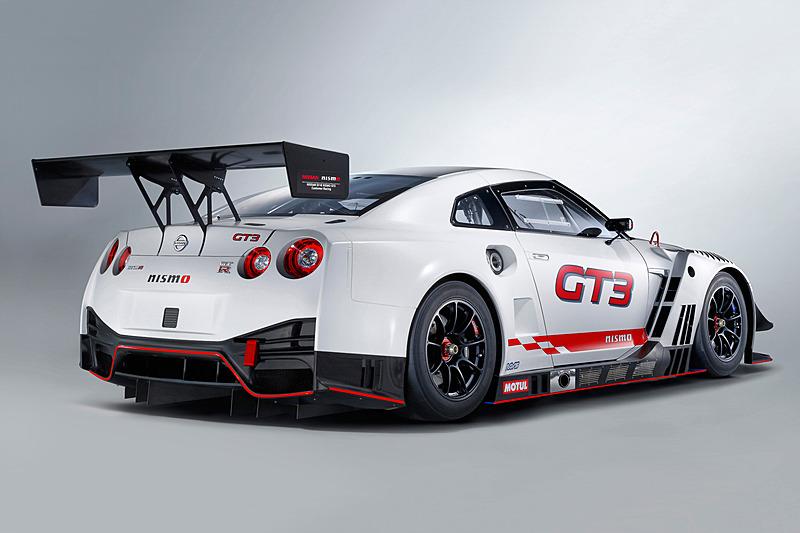 2018年型NISSAN GT-R NISMO GT3